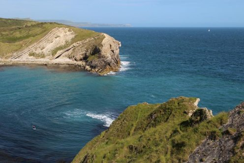 Entrance to Lulworth Cove