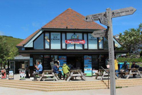 Finley's Cafe, (Marshfield Farm Ice Cream) Lulworth Cove