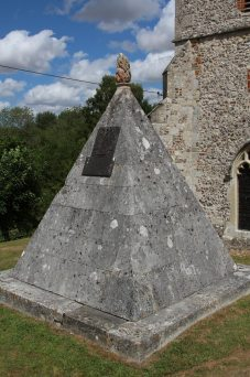 Francis Douce Mausoleum, St. Andrew's Churchyard, Nether Wallop
