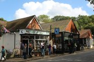 Gift shops, Burley, New Forest