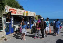 Kiosk, Lulworth Cove