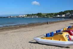 Pedal boats, Swanage Beach, Swanage