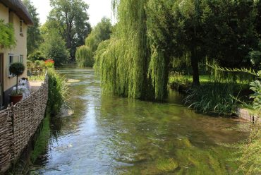 River Test, from Church Street, Wherwell