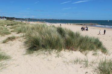 Sand dunes, beach, Sandbanks