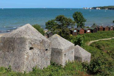 World War II defences, Middle Beach, Studland