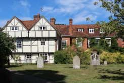 Church Stile House, from St. Andrew's Churchyard, Cobham