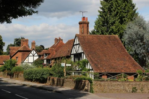 Cottages, The Street, Compton
