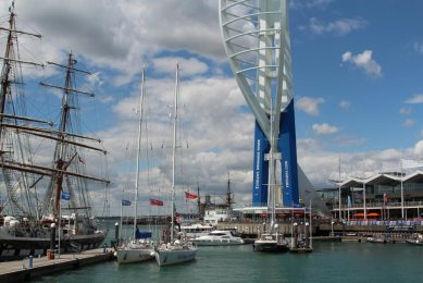 Emirates Spinnaker Tower and Marina, Gunwharf Quays, Portsmouth