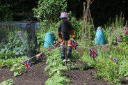 HM the Queen Diamond Jubilee 2012 celebrations, flower pot man, Shere