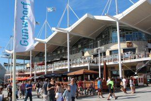 Restaurants, Waterfront, Gunwharf Quays, Portsmouth