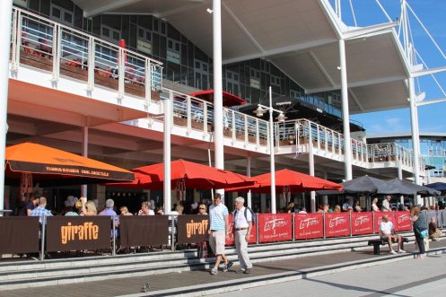 Restaurants, Waterfront, Gunwharf Quays, Portsmouth