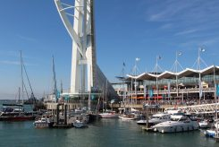 Spinnaker Tower, Waterfront and Marina, Gunwharf Quays, Portsmouth