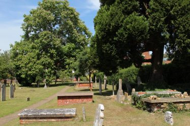 St. Andrew's Churchyard, Cobham