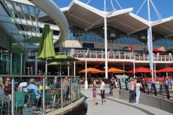 Waterfront Cafe and restaurants, Gunwharf Quays, Portsmouth