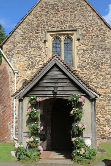 West Porch, St. James' Church, Shere