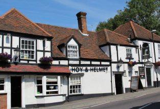 Hoy and Helmet pub, South Benfleet