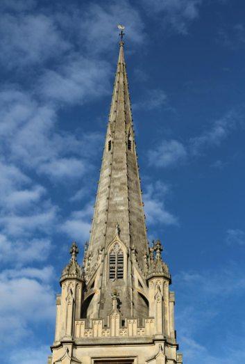 St. Mary's Church spire, Saffron Walden