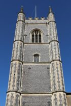 St. Mary's Church tower, Dedham