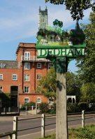 Village sign, Dedham