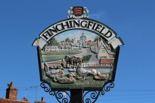 Village sign, Finchingfield