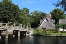 Flatford Bridge and Bridge Cottage, Flatford
