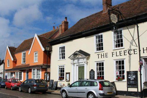 The Fleece Hotel, Broad Street, Boxford
