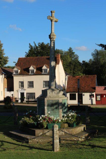 War Memorial, Village Green, Cavendish