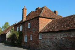 Bohams House, home of Kenneth Grahame, author of 'The Wind in the Willows', Blewbury