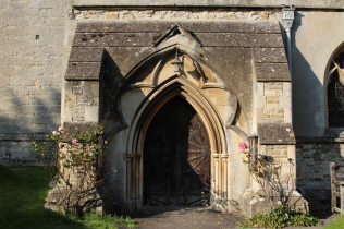 Entrance, St. Augustine's Church, East Hendred