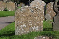 Grave of William Thatcher, St. Mary's Churchyard, Uffington