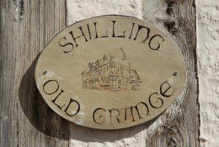 House name on Shilling Grange, Shilling Street, Lavenham
