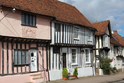 Timber-framed houses, Church Street, Lavenham
