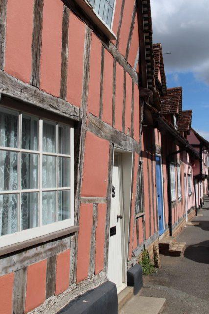 Timber-framed houses, Water Street, Lavenham