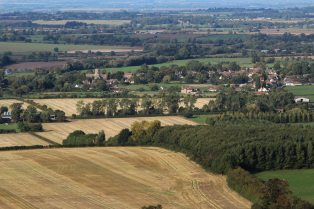 Uffington, from White Horse Hill