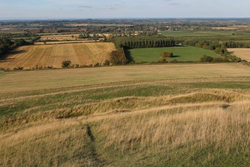 Vale of White Horse, from White Horse Hill