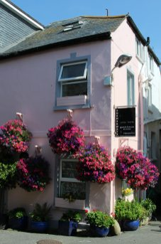 Cornerways Guest House, where Daphne Du Maurier stayed in 1940s, St. Ives