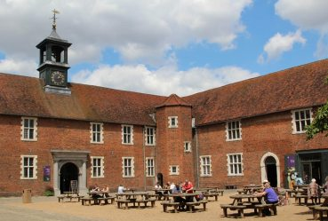 Courtyard, Stables Cafe, Osterley Park and House, Isleworth