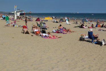 Durley Chine Beach, Bournemouth