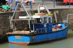 Fishing boat, Misty, Whitstable Harbour, Whitstable