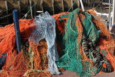 Fishing nets, Whitstable Harbour, Whitstable