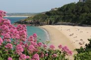 Porthminster Beach, from Malakoff Gardens, St. Ives