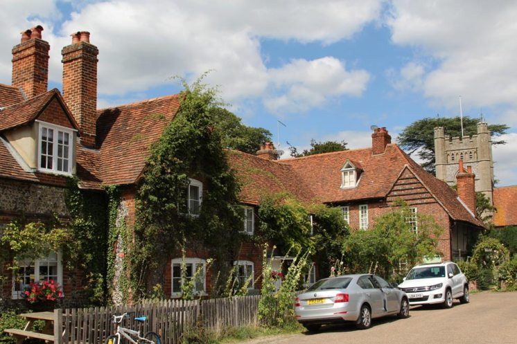Cottages, Village Square, Hambleden