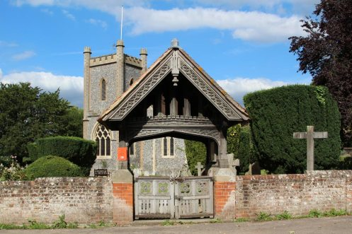 Lychgate, St. Nicholas Church, Remenham
