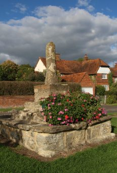 Preaching Cross and Windmill Cottage, Quainton