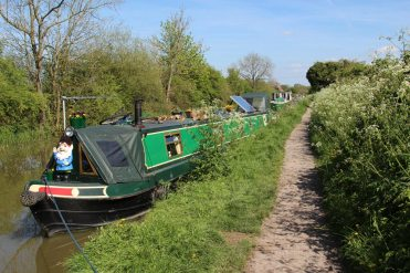 Narrowboats, Kennet and Avon Canal, near Pewsey Wharf