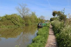 Towpath, Kennet and Avon Canal, near Pewsey Wharf