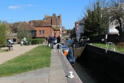 Newbury Lock, Kennet and Avon Canal, Newbury