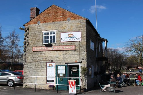 Teashop by the Canal, The Stone Building, The Wharf, Newbury