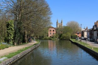 West Mills Wharf, Kennet and Avon Canal, Newbury