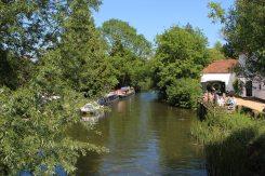 Kennet and Avon Canal, from Kintbury Bridge No. 75, Kintbury